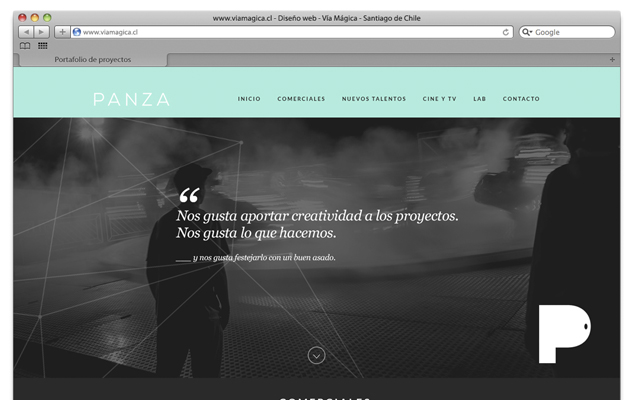 New Web Panza